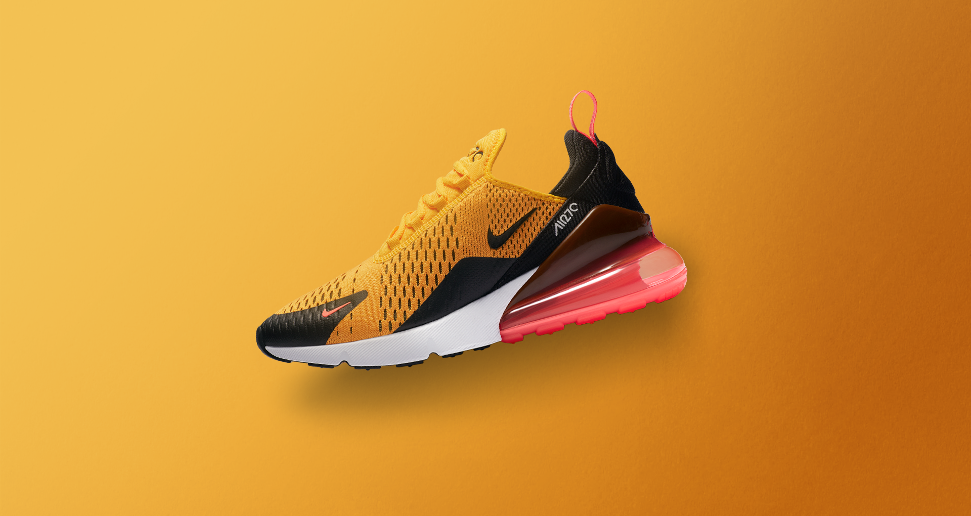 3d88e72791 A Closer look At The Nike Air Max 270 Black & University Gold ...