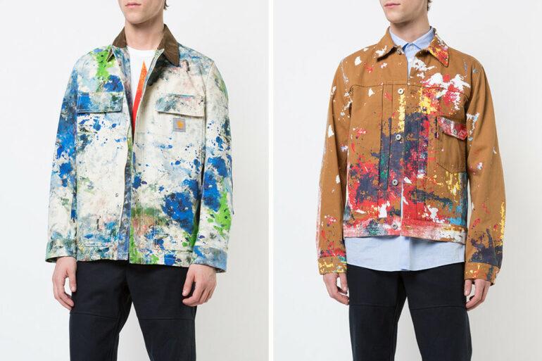 , Check Out Junya Watanabe's Colorful SS18 Jackets