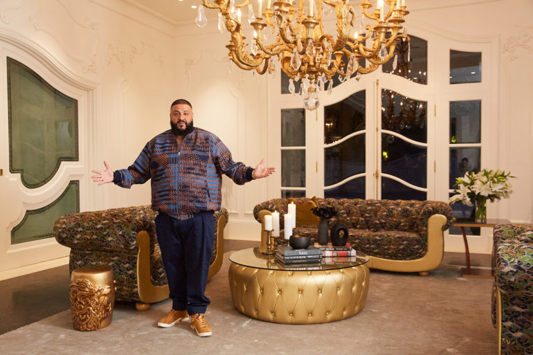 , DJ Khaled Launches 'We the Best Home' Furniture Line
