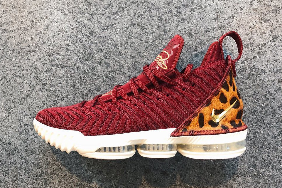"""info for 73395 0fdf5 A First Look At The Upcoming Nike LeBron 16 """"King"""" 