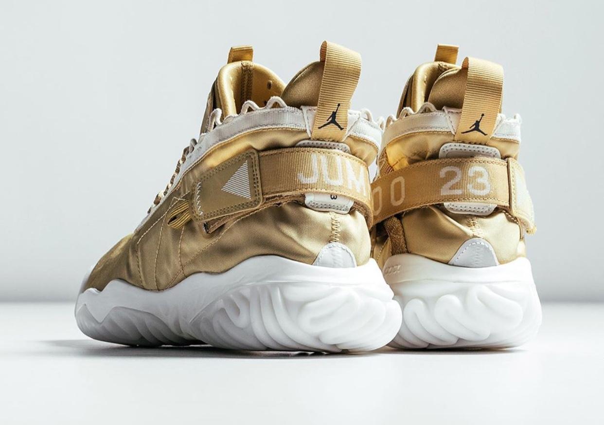 ", Here's How To Cop The Jordan Proto-React ""Light Cream/Black/Club Gold"""