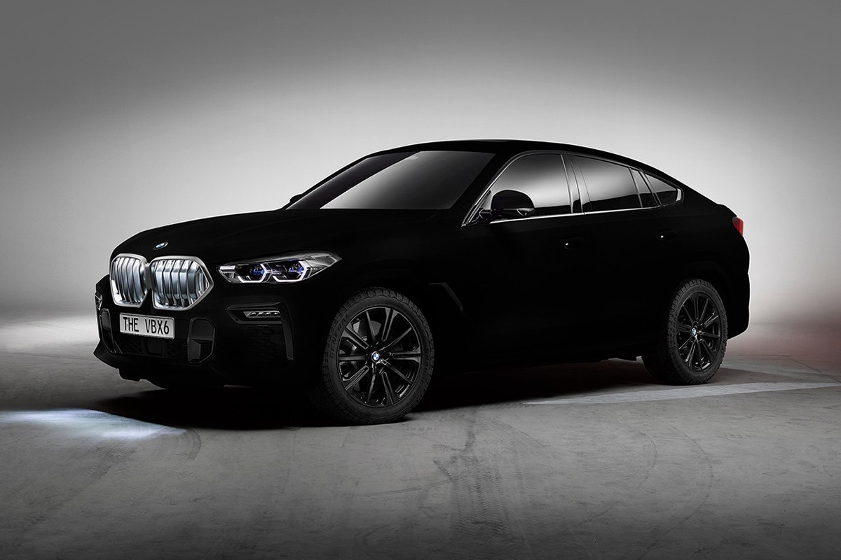 ", BMW Unveils ""Blackest black"" Car Sprayed With Vantablack"
