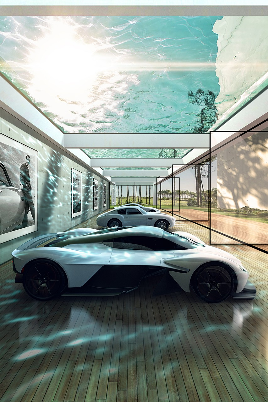 , Aston Martin Offers Custom Luxury Lairs for Car Fanatics