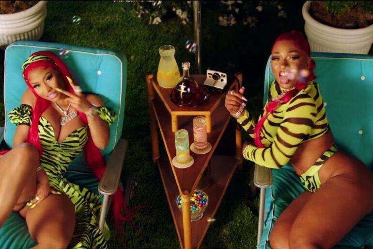 ", Megan Thee Stallion, Nicki Minaj & Ty Dolla $ign Get Lit in ""Hot Girl Summer"" Video"