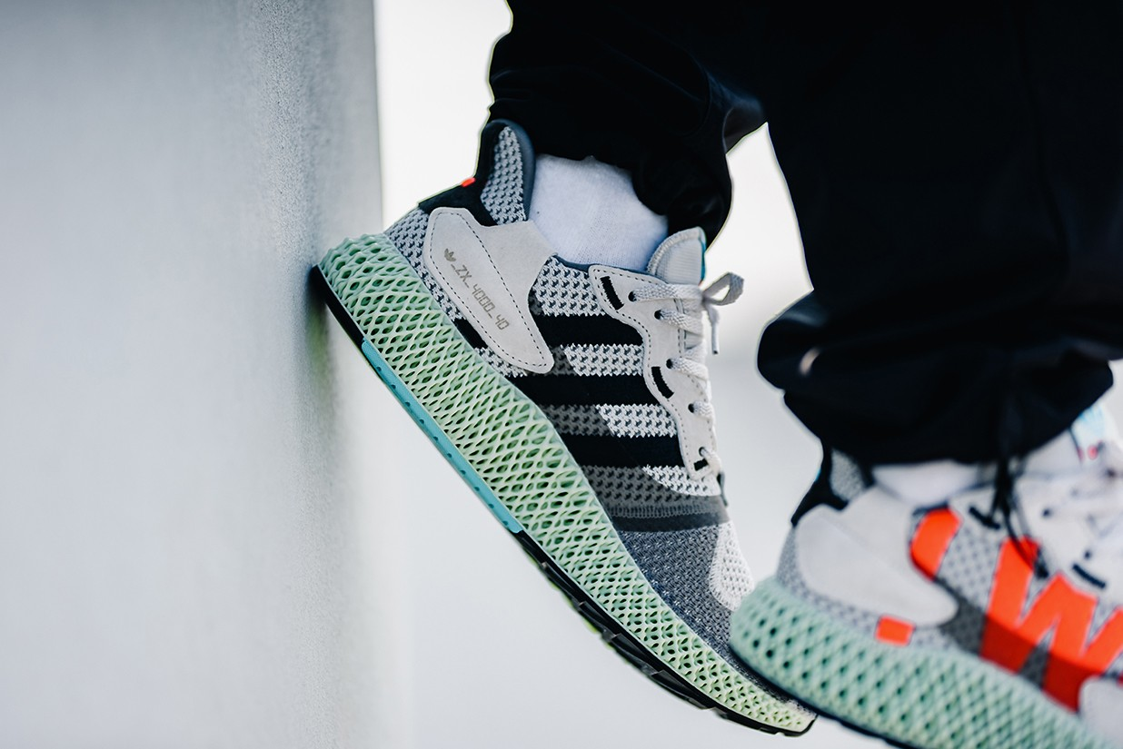 ", Adidas Releases ZX 4000 4D ""I Want I Can""Edition"
