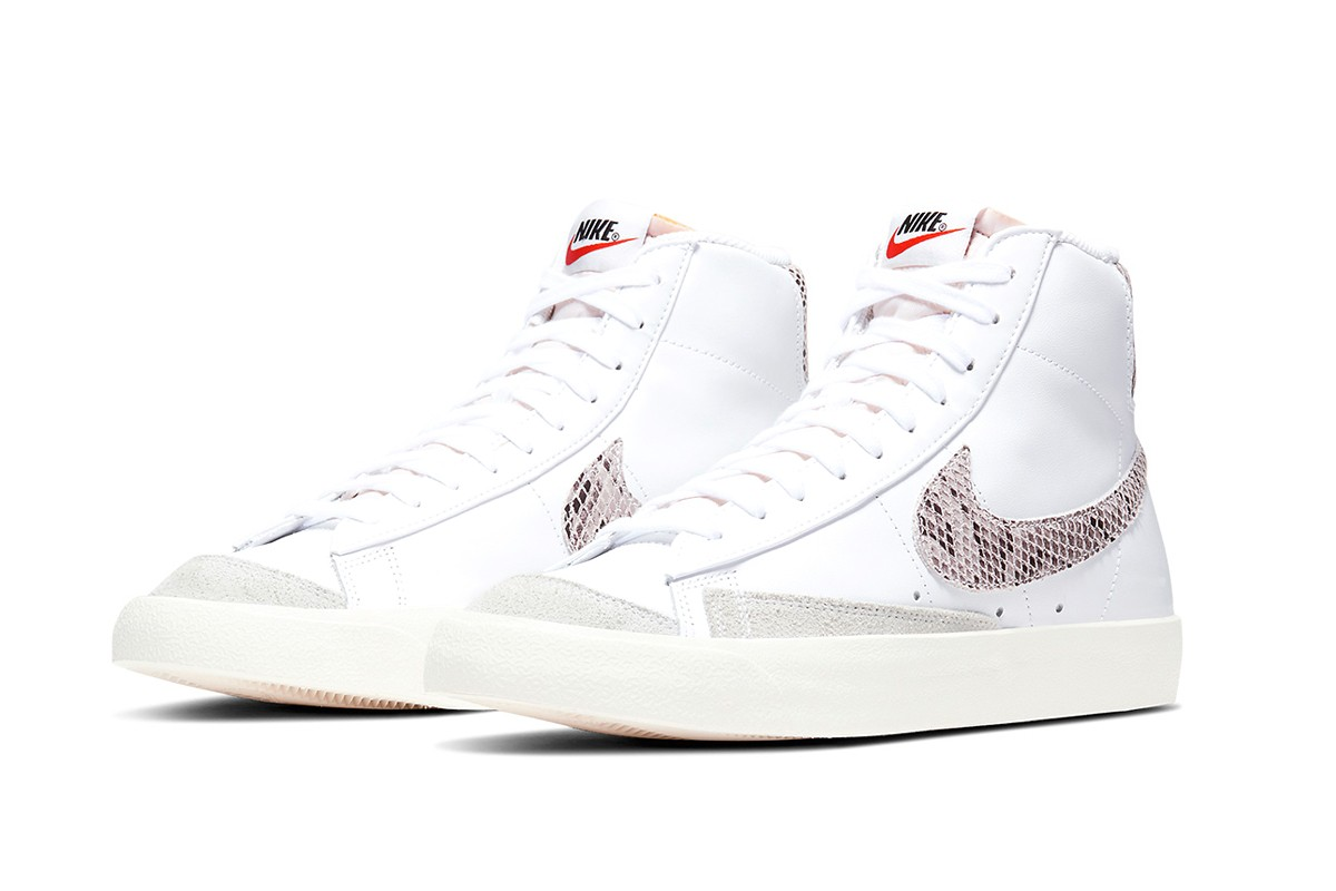 , Nike's Latest Blazer Mid '77 Vintage Gets Reptile White Makeover
