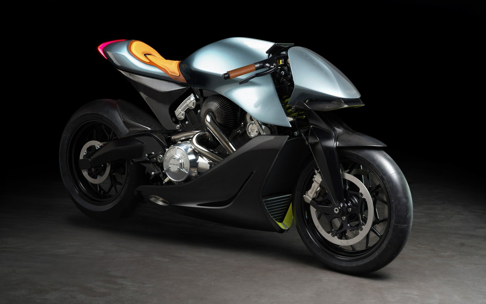 , Aston Martin Unveils It's First-Ever Motorcycle AMB 001