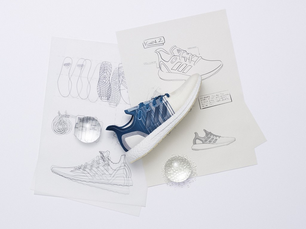 , adidas Unveils Next Level 100% recyclable running sneaker