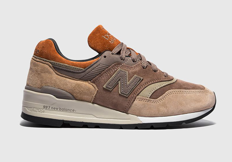 , The New Balance 997 Made In USA Arrives In Earth-Toned Suedes