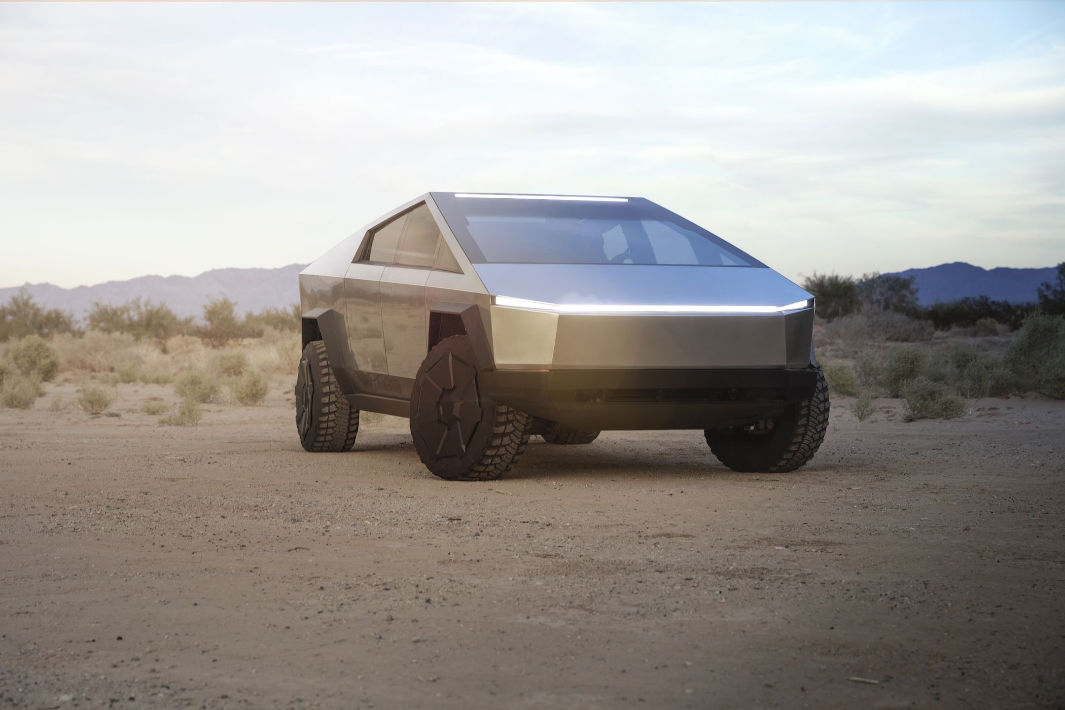 , Tesla Unveils CyberTruck Electric Pickup Truck and Smashes Windows