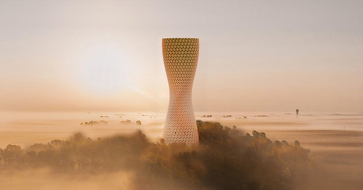 , MEAN* Design 3D Printed Pavilion in Dubai to Reconnect Visitors With Nature