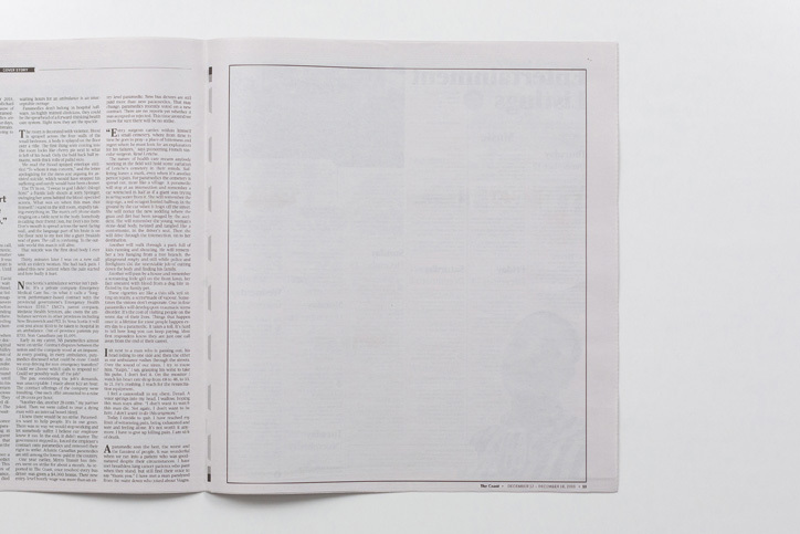 , Creative Agency Buys $10k Of Blank Ad Space Giving Everyone a Break From Ads