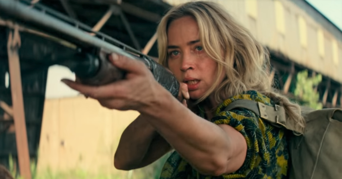 , Watch Emily Blunt Fight Aliens in First 'A Quiet Place: Part II' Trailer