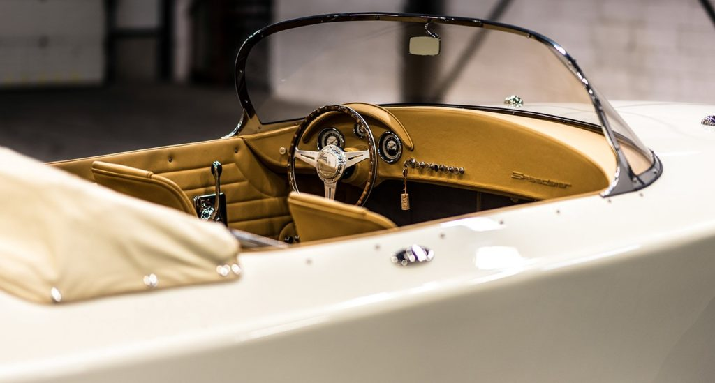 , This Stunning Hermes Speedster E Was Inspired by Porsche's Rare Classic 356 Sports Car