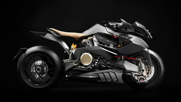 , The Vyrus Alyen Is a 202 Horsepower, Ducati-Powered Superbike