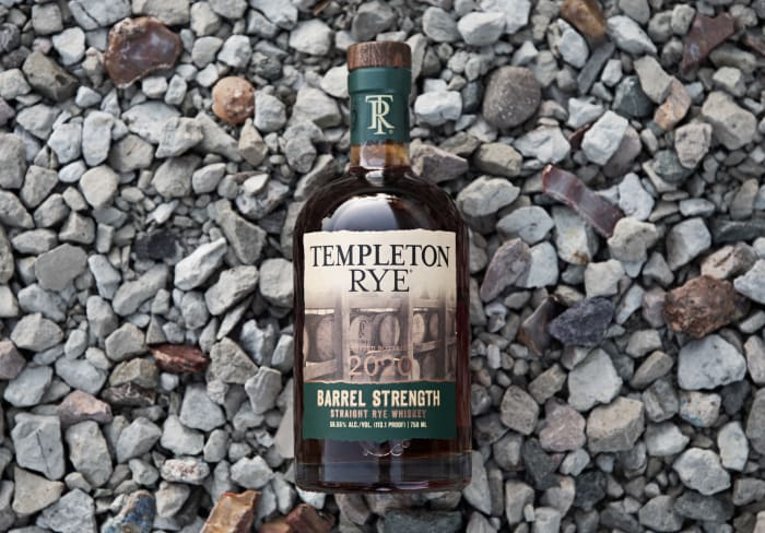 , Templeton Rye Releases Barrel Strength Straight Rye Whiskey