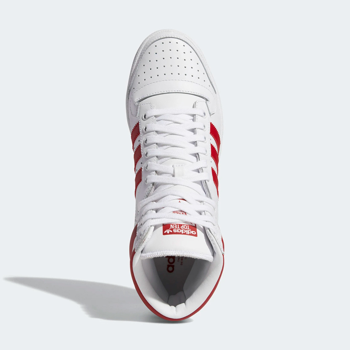 , adidas Top Ten Hi White Red EF2359 – Release Info