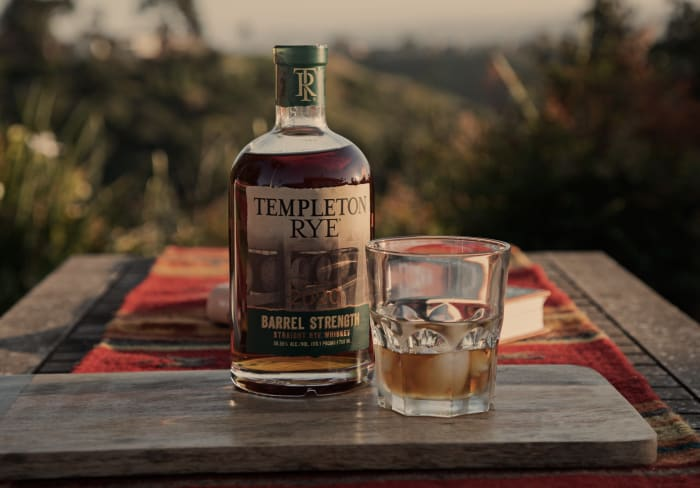 , Templeton Rye Releases Barrel Strength Straight Rye Whiskey
