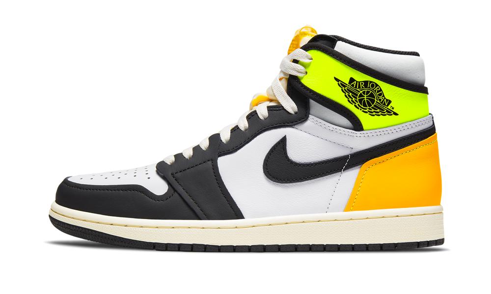 Air Jordan 1 Retro High OG 'Volt Gold' Shoes