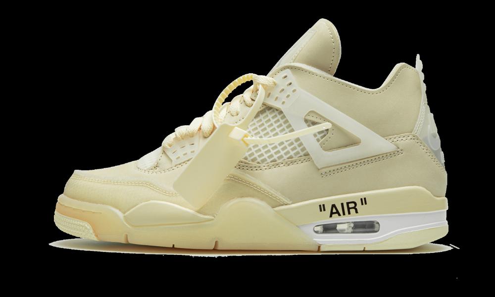 Air Jordan 4 Retro SP WMNS 'Off-White - Sail' Shoes