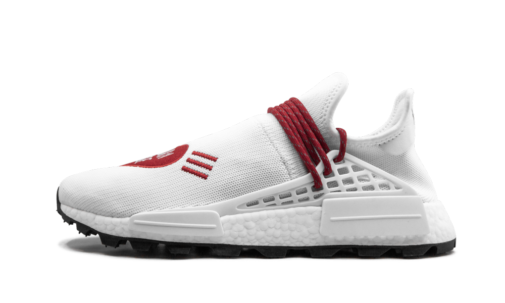 Adidas HU NMD Human Made 'Human Made White Red' Shoes