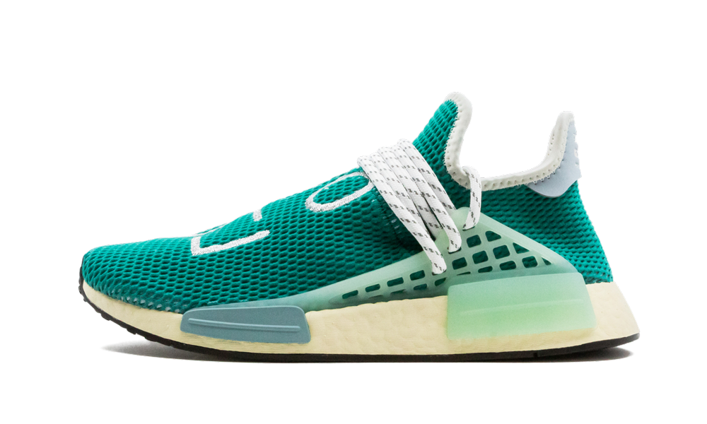 Adidas HU NMD 'Pharrell - Dash Green' Shoes