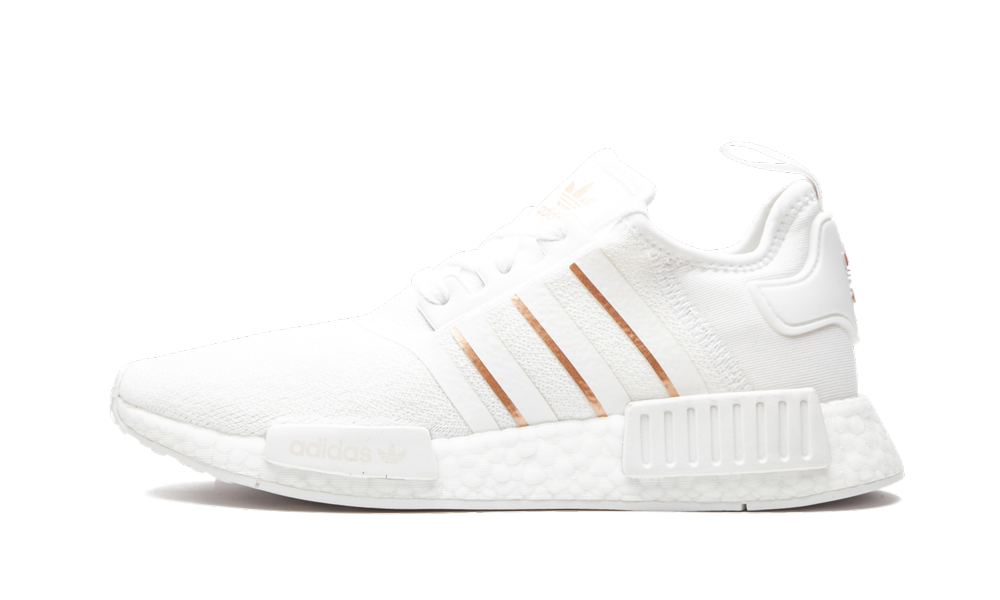Adidas NMD R1 'Cloud White Rose Gold' Shoes