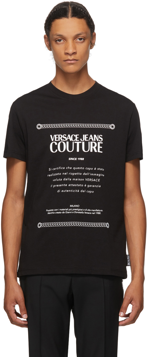 Versace Jeans Couture logo-print cotton T-shirt